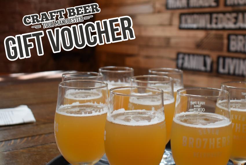 Manchester Brewery Tour Gift Voucher